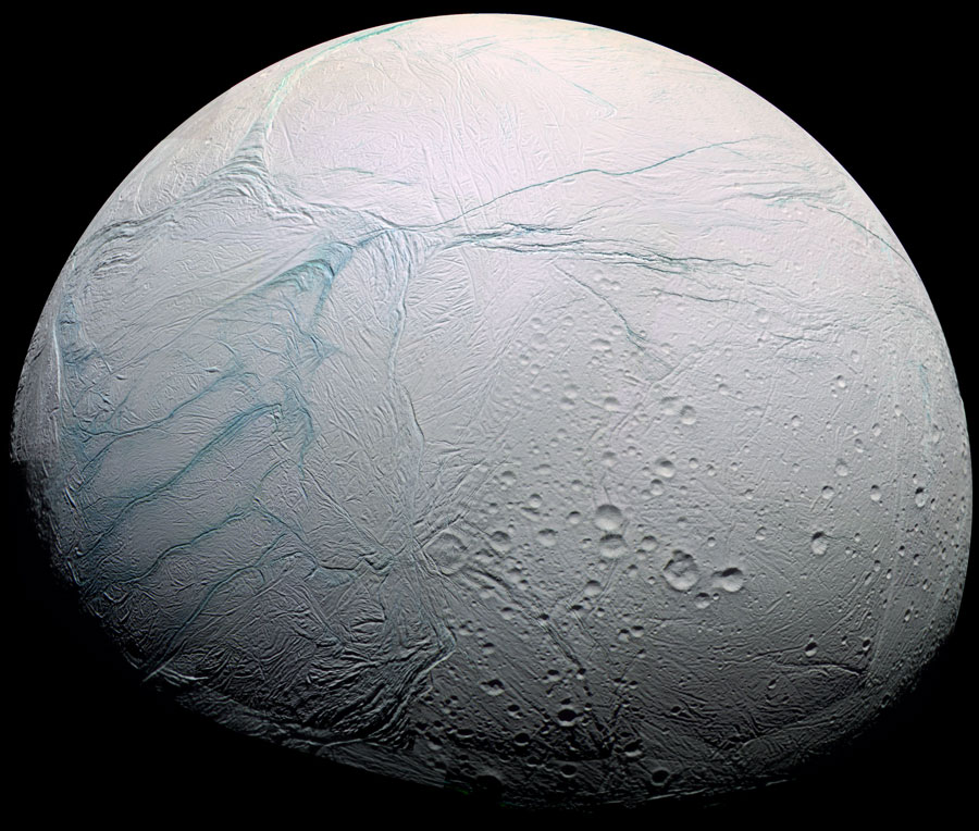 Fresh Tiger Stripes on Saturn's Enceladus