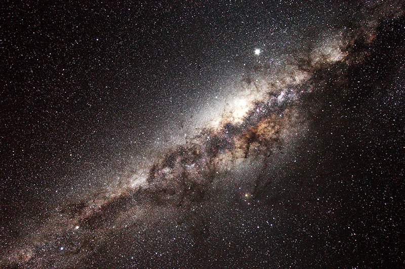 The Milky Way, imaged by Dr George Tucker, in the NamibRand reserve