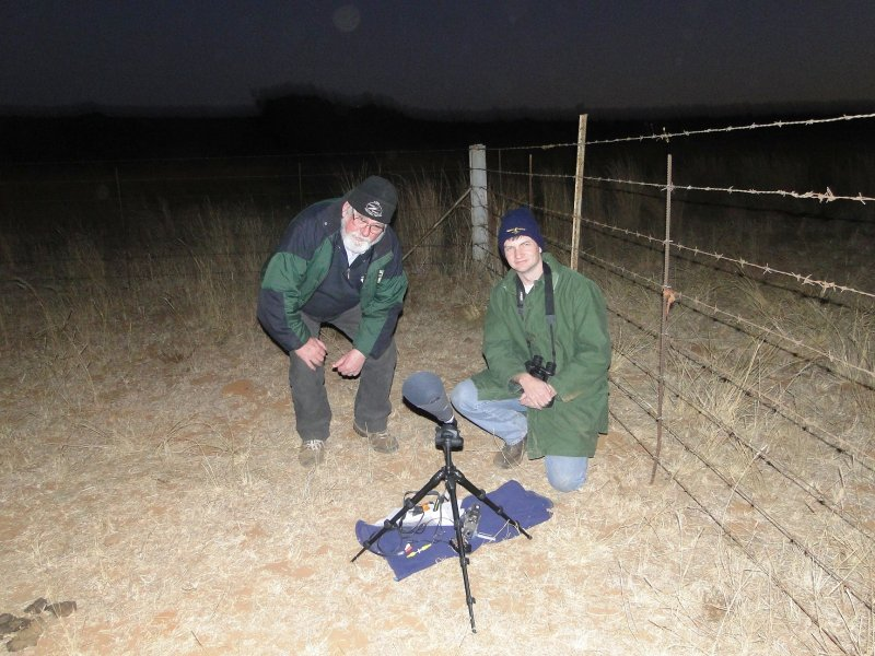 Bosman Olivier and Allen Versfeld, Patientia occultation