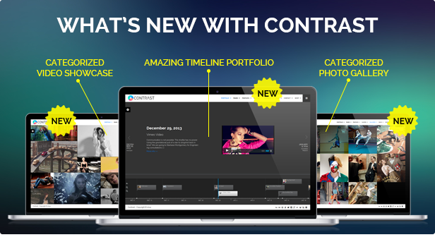 CONTRAST - Elite Photography & Portfolio WP Theme - 2