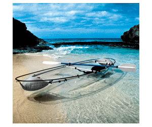 Glass canoe small