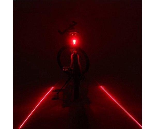 Fahrrad laser r%c3%bccklicht medium