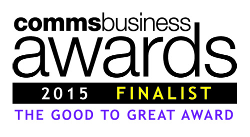 Gradwell - shortlisted for the Comms Business Awards 2015