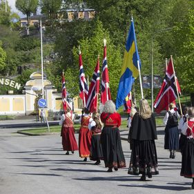 17 maj på Skansen
