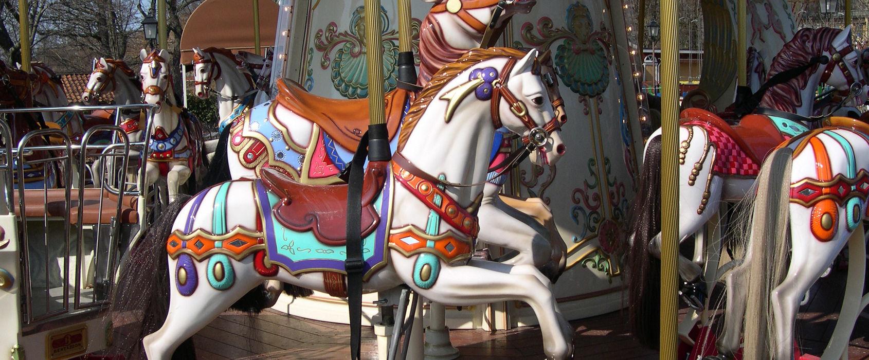 Karusell på Galejans tivoli, Skansen