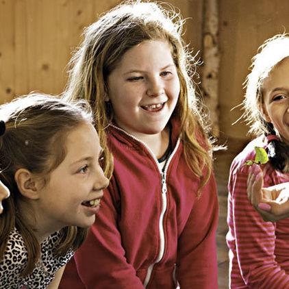 Barn på Lill-Skansen