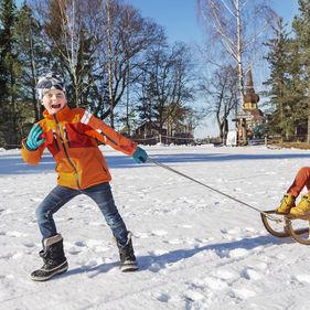 Sportlov på Skansen