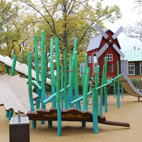 Lekplatser på Skansen