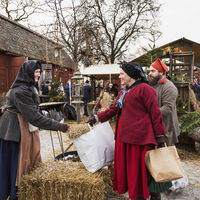 Julmarknad på Skansen
