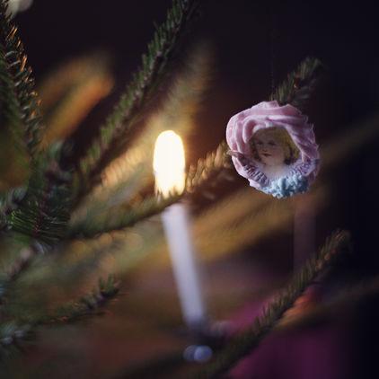 Julgran på Skansen