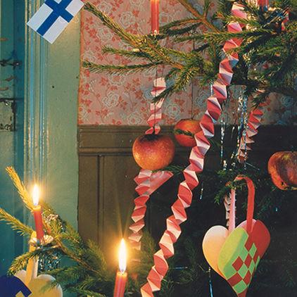 Pyntad julgran