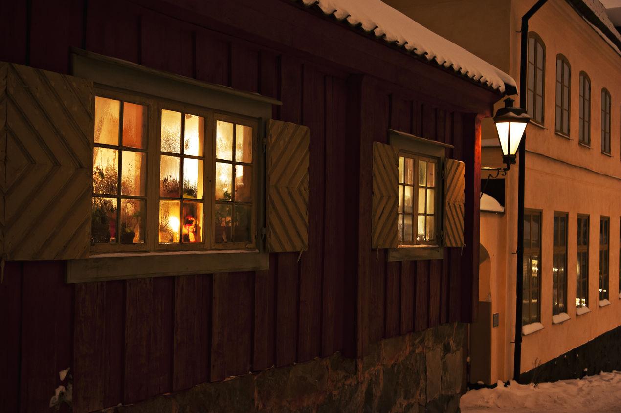 Vinter på Skansen