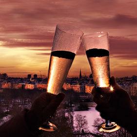 Nyår på Skansen
