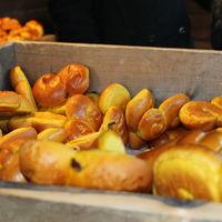 Julmarknad på Skansen, lussebullar