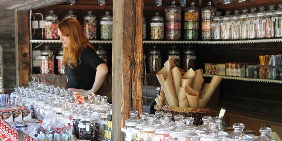 Marknadsbod på Skansen