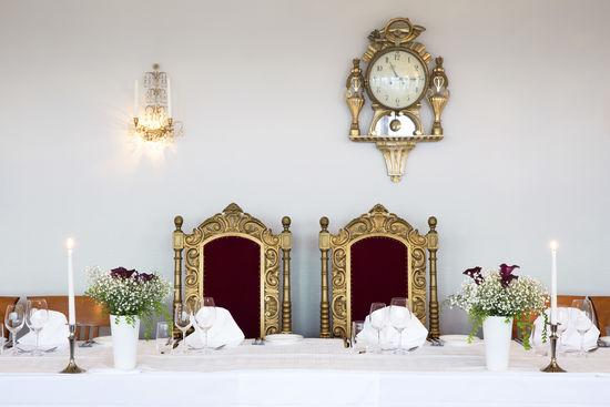 Honörsbord i Gustavianska våningen
