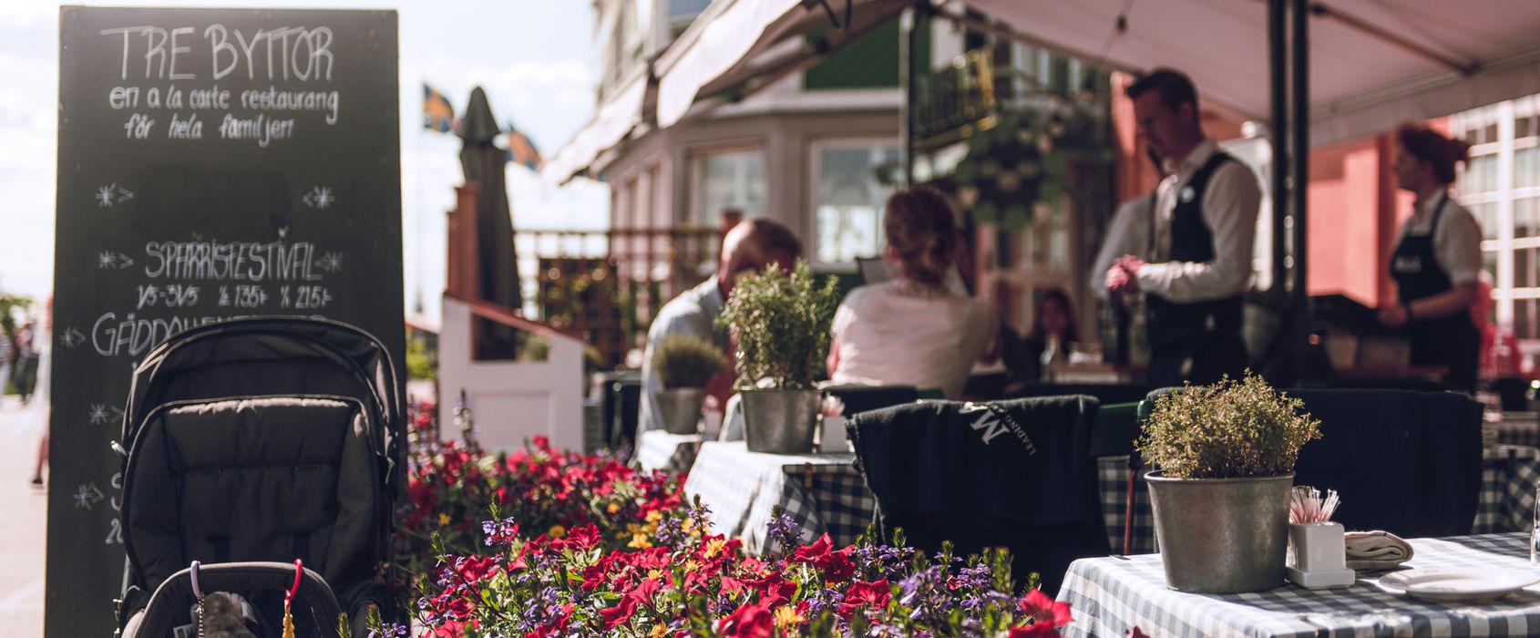 Restaurang Tre Byttor på Skansen