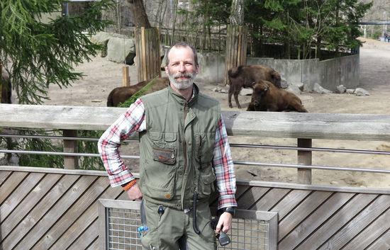 Magnus Dahlgren, djurvårdare på Skansen