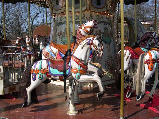 Karusell på Galejans tivoli