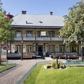 Restauration Gubbhyllan på Skansen.
