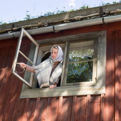 Arbetarbostaden, Skansen