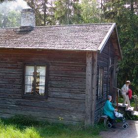 Bagarstugan, Skansen