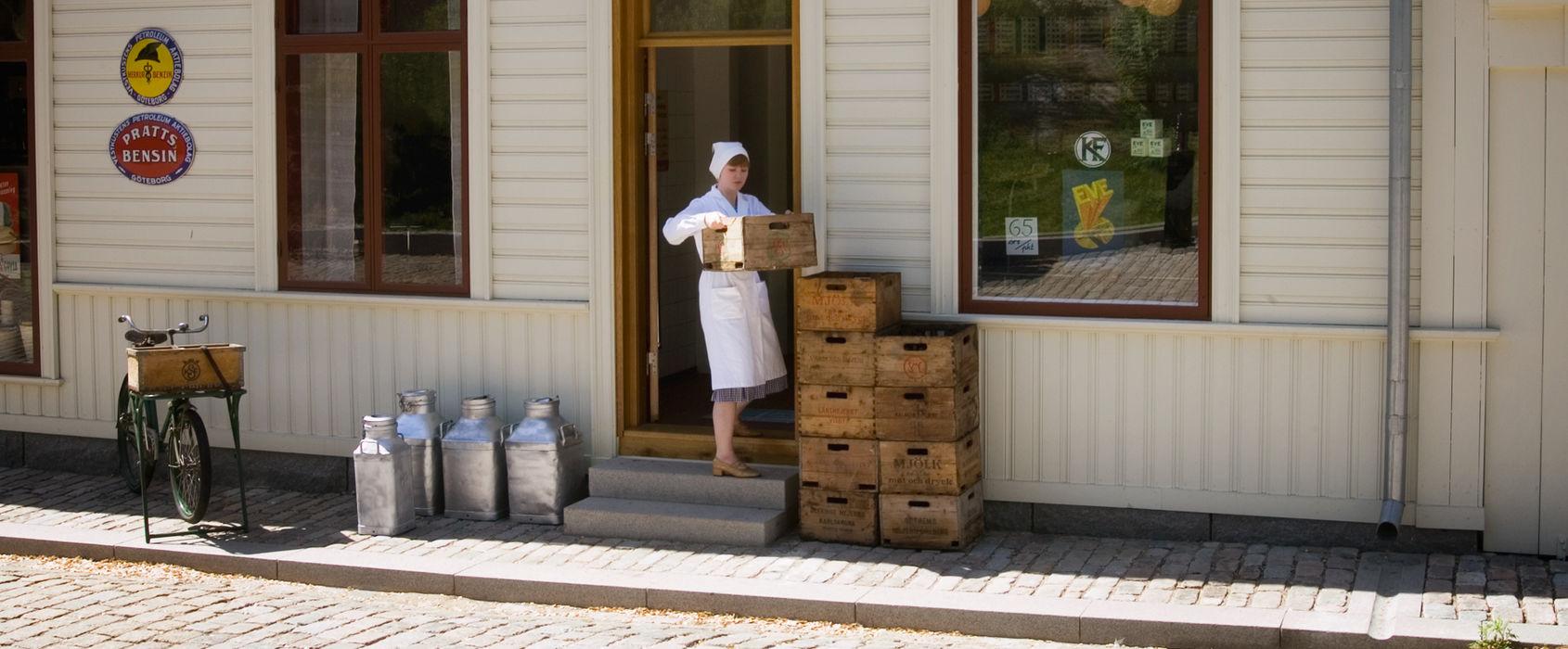 Konsumbutiken på Skansen