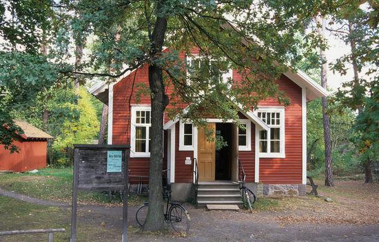 Folkets hus på Skansen Här verkade folkrörelserna som Skansen se