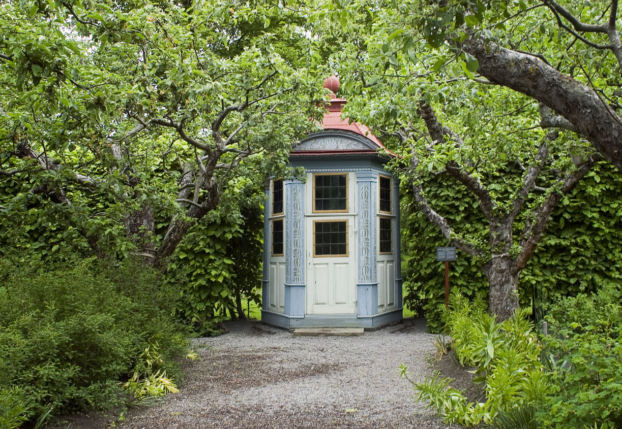 Lusthuset vid Skogaholms herrgård på Skansen