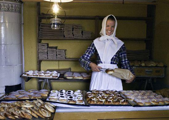 Bageribiträde på Skansens bageri