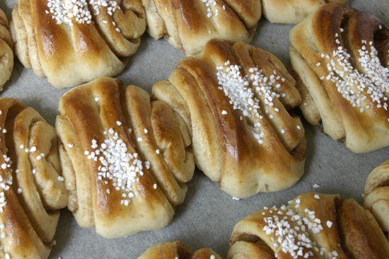 Kanelbullar från Skansens bageri