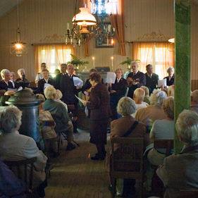 Missionshuset och Frälsningsarmén på Skansen