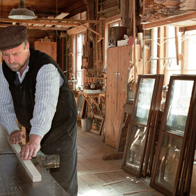 Snickerifabriken på Skansen