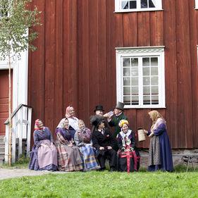 Ekshäradsgården, Skansen