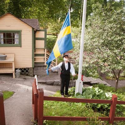 Kolonistuga på Skansen