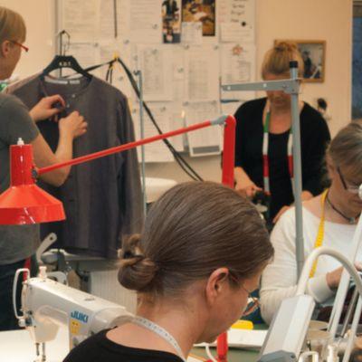 Ateljén i Skansens klädkammare