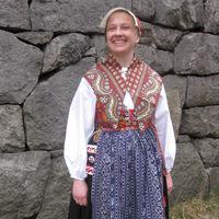 Kvinnodräkt från Mockfjärd, Dalarna