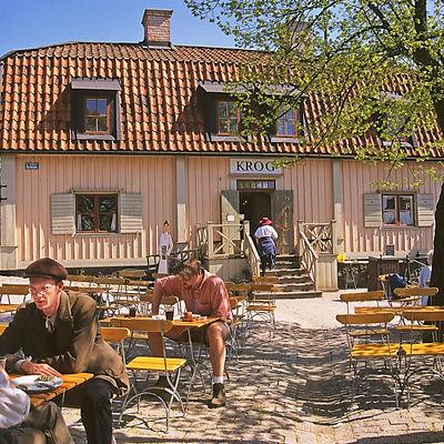 Restaurang Stora Gungan, Skansen