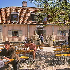 Stora Gungan, restaurang på Skansen