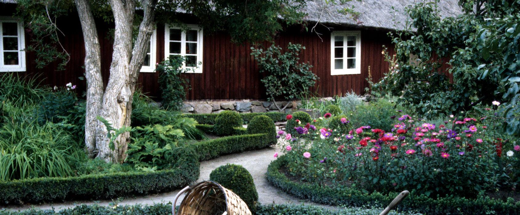 Skånegårdens trädgård, Skansen
