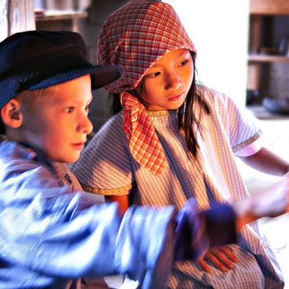 Barn i Stadskvarteren på Skansen
