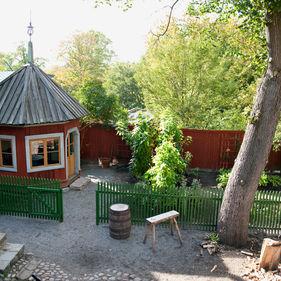 Boktryckerigårdens trädgård