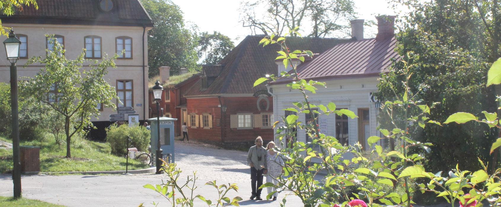 Rosengården, Skansen