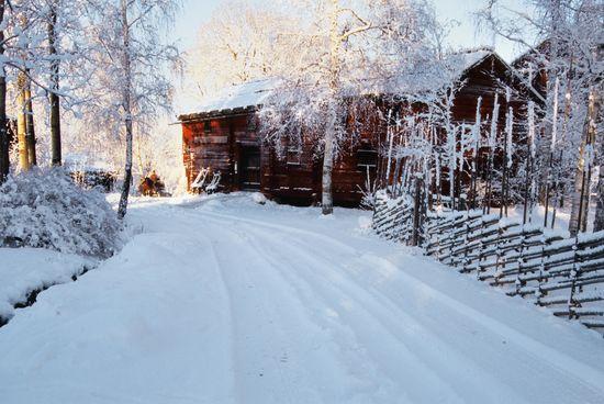 Skansen vintertid