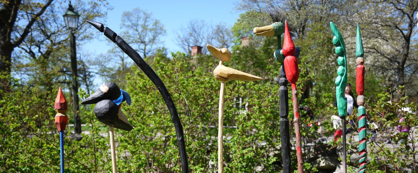 Trädgårdsslöjd på Skansen