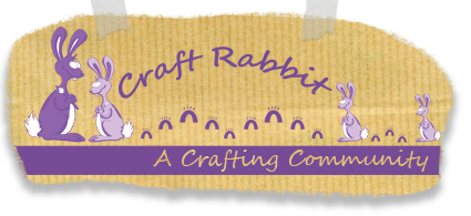 craft rabbit home