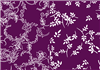 2xA5 purple white backing