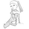 Pixie Digital Stamp 4