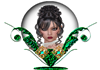 Globel lady