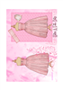 Pink Party Dress Quick Card